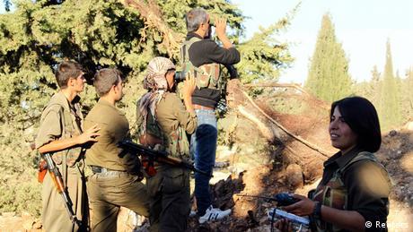 ″داعش″ يسيطر على 16 قرية كردية شمال سوريا   أخبار   DW.DE   18.09.2014