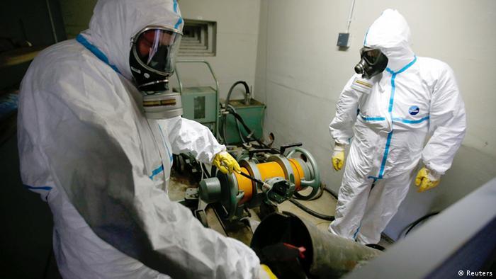 Die Experten der GEKA verfügen über langjährige Erfahrung im Umgang mit Kampfstoffen (Foto: rtr)