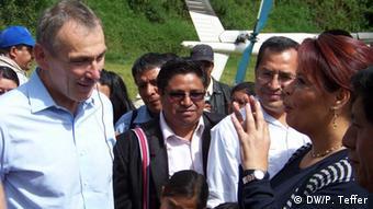 European Commissioner for Development Andris Piebalgs meets Guatemalan Vice President Roxana Baldetti