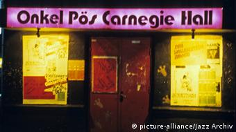 The old Hamburg club Onkel Pö, which closed in 1985 Copyright: picture-alliance / Jazz Archive