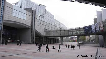 European Parliament building in Brussels (photo: Markus Böhnisch/ DW)