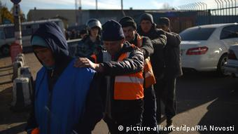Festnahmen von Migranten in Russland (Foto: RIA Novosti)