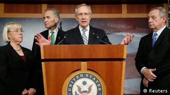 USA Haushaltsstreit Einigung Kompromiss Senator Patty Murray Charles Schumer Harry Reid Dick Durbin