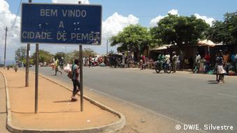 Mosambik Kommunalwahlen Stadt Pemba (DW/E. Silvestre)