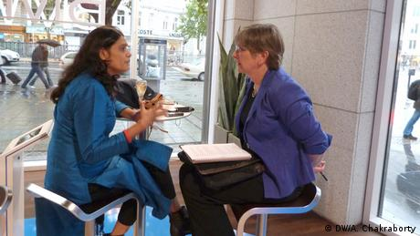 Nazma Akater Interview Female Leader Of The Year 2013 in Berlin