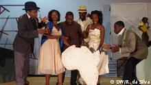 Mosambikanische Theaterschauspieler