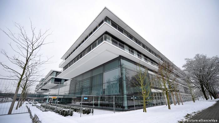 Zentrum für Operative Medizin II der Uni-Klinik Düsseldorf Foto: Daniel Naupold/dpa pixel