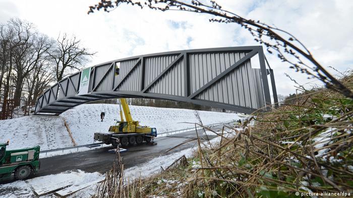 Fledermausbrücke in Biberach. Foto: Felix Kaestle/dpa