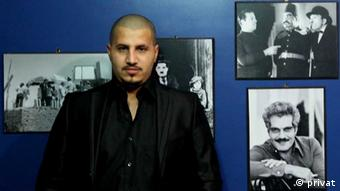 islam belal drictor of independent cinema movies in egypt won a prize in cairo comptetions in 2013 for his movie insane human.