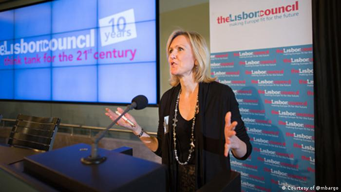 Ann Mettler, Executive Director and Co-Founder, The Lisbon Council. (Photo: Courtesy of @mbargo)