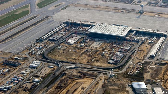 Стройплощадка аэропорта Берлин-Бранденбург