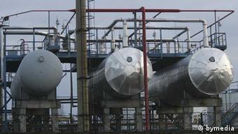 Завод по переработке нефти в Мозыре