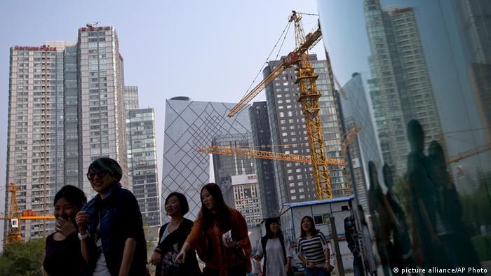 Symbolbild Wirtschaftswachstum in China