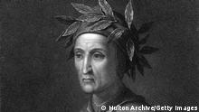 GettyImages 51242940 Circa 1300, Dante Alighieri (1265 - 1321) the Italian poet. (Photo by Hulton Archive/Getty Images)