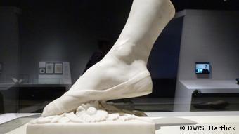 To πόδι της χορεύτριας Φάνι Έσλερ (1802 - 1886)