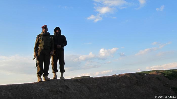 Das leben an der Syrisch-Irakischen Grenze (DW/K. Zurutuza)