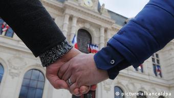 Frankreich Symbolbild Homo-Ehe
