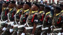 Symbolbild - Soldaten aus Angola