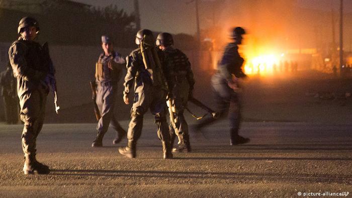 Afghanistan Angriff auf Ausländer-Viertel in Kabul