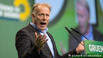 O γερμανός βουλευτής των Πρασίνων και πρώην υπουργός Περιβάλλοντος Γιούργκεν Τριτίν