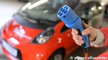 Carsharing Station für Elektrofahrzeuge in Erfurt