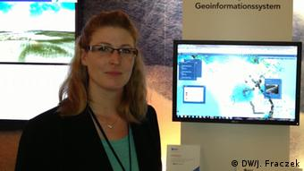 Mareike Kortmann of the Environmental Systems Research Institute
