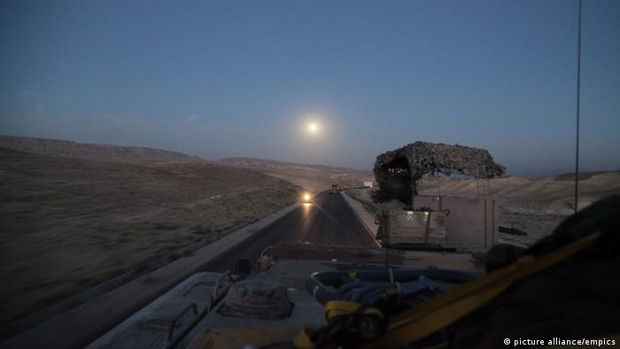The convoy leaving Kunduz (dpa - Bildfunk)