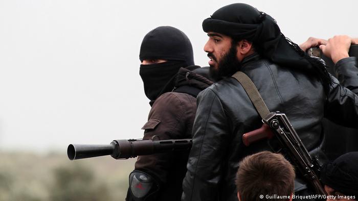Kämpfer der al-Nusrah Front (Foto: Guillaume Briquet/AFP/Getty Images)