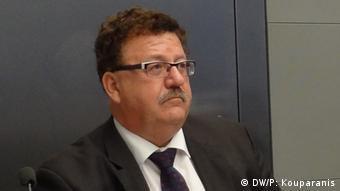 Ο Χανς-Γιόαχιμ Φούχτελ, εντεταλμένος της καγκελαρίου Μέρκελ για την ελληνογερμανική συνεργασία σε επίπεδο δήμων και περιφερειών