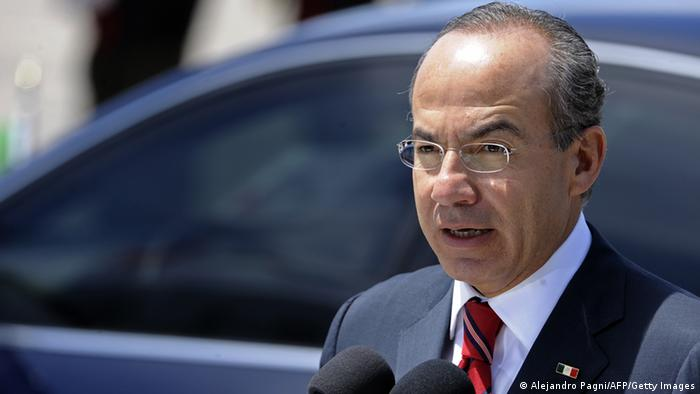 Felipe Calderon Mexiko (Alejandro Pagni/AFP/Getty Images)