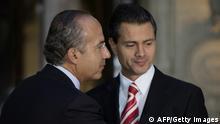 Felipe Calderon Enrique Pena Nieto Mexiko