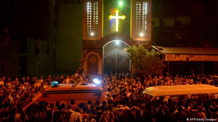 Violence against Copts in Cairo reached a high point in 2013