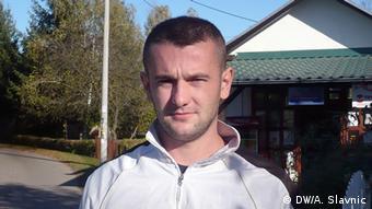 Marko Vujanić aus Gradiska. Die Menschen aus Bosnien-Herzegowina auf der Suche nach der Arbeit in Katar, Datum 19.10.2013, Foto: DW/Aleksandra Slavnic