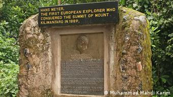 Denkmal für Hans Meyer (Foto: Muhammad Mahdi Karim)