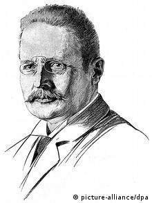Hans Meyer (1858-1929) von A. Klamroth. Erstbesteiger des Kilimandscharo (Foto: picture-alliance/dpa)