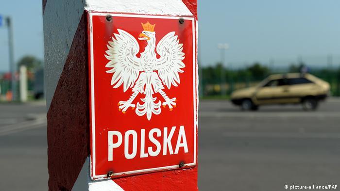 Polen Ukraine Grenzübergang