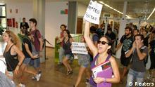 Spanien Protest 03.10.2013 in Valencia