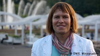 Portrait von Andrej Obolenskij, Leiter der NGO Regenbogen-Verband in Moskau (Foto: DW)
