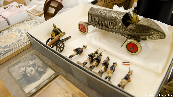 Детские игрушки, выставленные в Ганновере