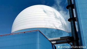 Nuclear power station Sizewell B in Suffolk, Britain (Photo: dpa/EPA/BRITISH ENERGY GROUP)