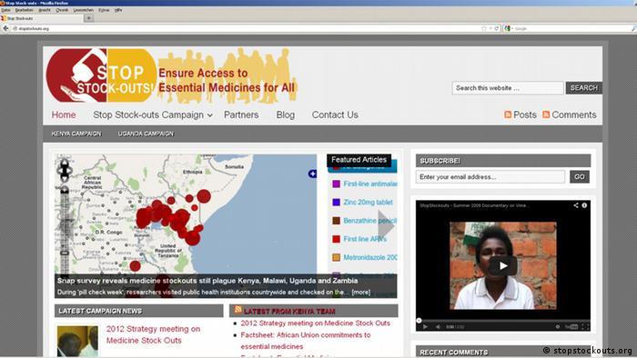 Screenshot of stopstockputs.org