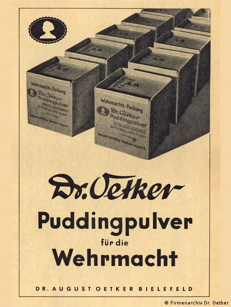 ad from WWII compapny archives Dr. Oetker.