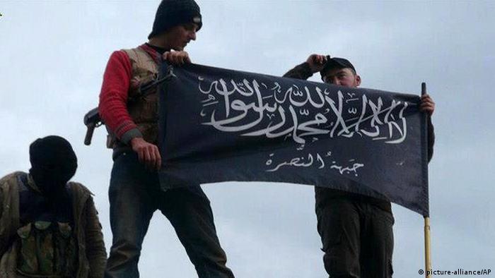 Kämpfer der Al Nusra Front in Syrien (Foto: AP)