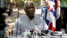 Mosambik Führer der Oppositionspartei RENAMO Afonso Dhlakama 2013