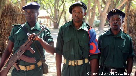 Mosambik RENAMO Rebellen im Gorongosa Gebirge 2013 (Jinty Jackson/AFP/Getty Images)