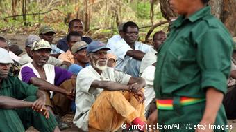 Mosambik RENAMO Rebellen im Gorongosa Gebirge 2012