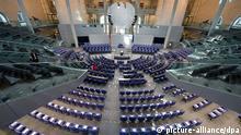Bundestag konstituierende Sitzung Plenarsaal 22.10.2013