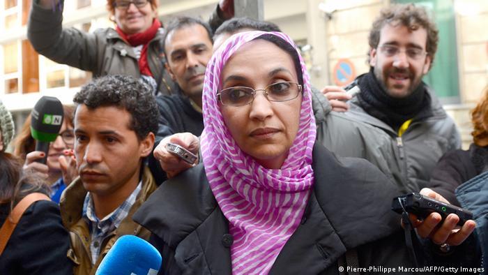 Aminatou Haidar Menschenrechtsaktivistin aus Westsahara Foto: PIERRE-PHILIPPE MARCOU