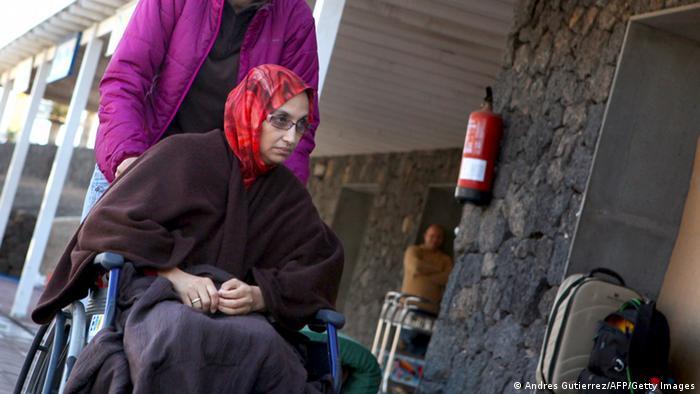 Aminatou Haidar Menschenrechtsaktivistin aus Westsahara 2009 (Andres Gutierrez/AFP/Getty Images)