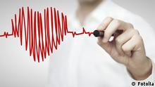 Herz Herzschlag Symbolbild